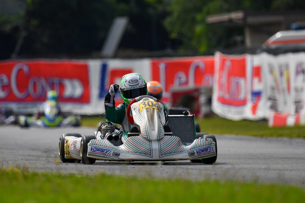 Tony Kart: Junior title in the WSK Euro Series