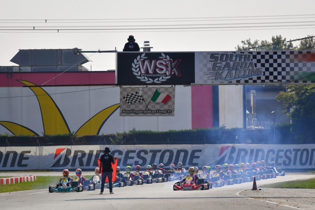 WSK Euro Series – Qualifying Rnd 2 & 3 / Heats Rnd 2: The long challenge started at South Garda