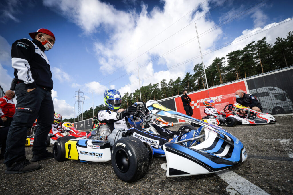 FIA Karting European Championship – KZ/KZ2/Academy Round 2: Leaders in difficulty before Genk's Finals