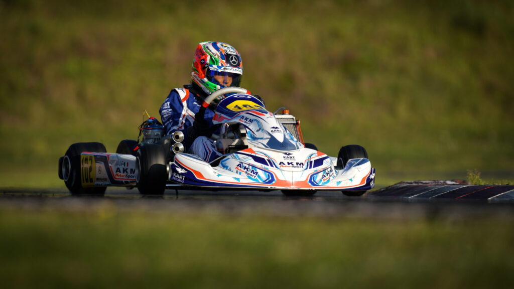 FIA Karting European Championship – OK/Junior Round 3: Antonelli on pole in OK, Powell the fastest Junior