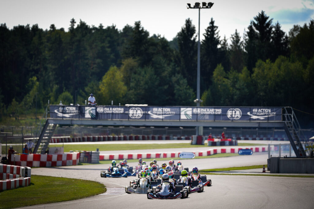 FIA Karting European Championship – OK/Junior Round 3: Favourable situation for Ugochukwu and Antonelli
