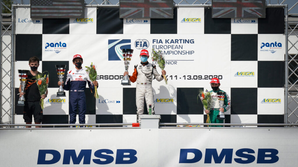 FIA Karting European Championship – Junior: Ugochukwu crowned despite Lindblad's win in Germany