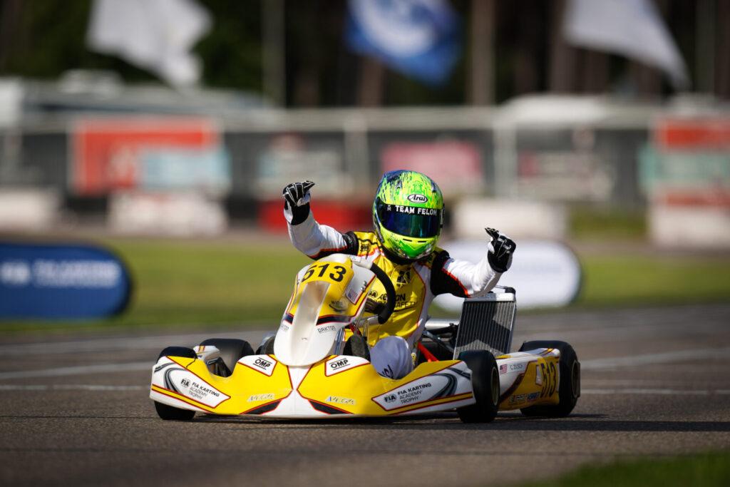 FIA Karting Academy Trophy: Zilisch victorious of Round 2 in Belgium