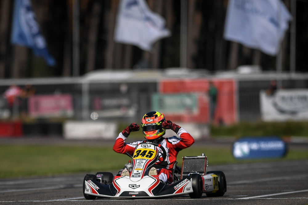 Leclerc by Lennox Racing: Gustavsson crowned KZ2 European Champion