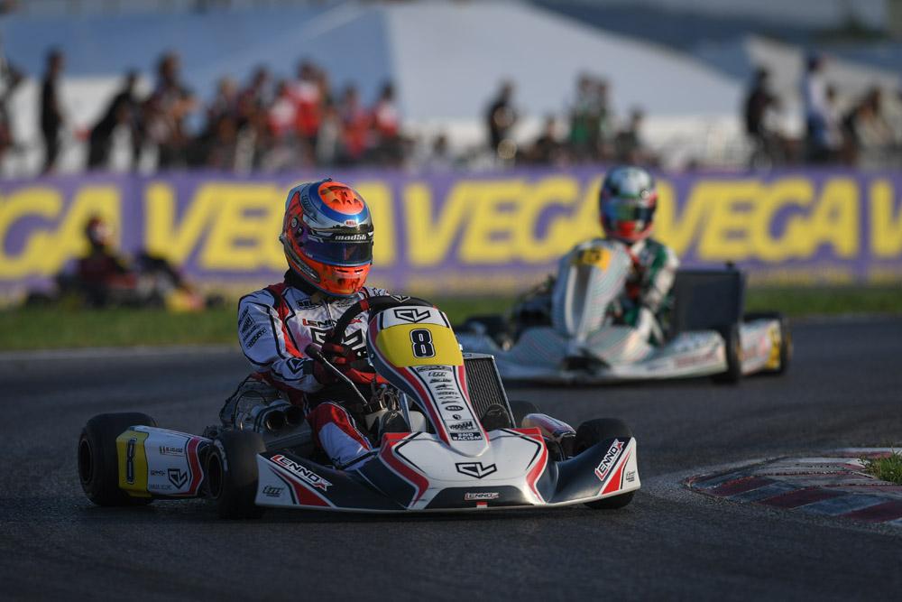 Leclerc by Lennox Racing: KZ2 podium for Vigano at Lonato