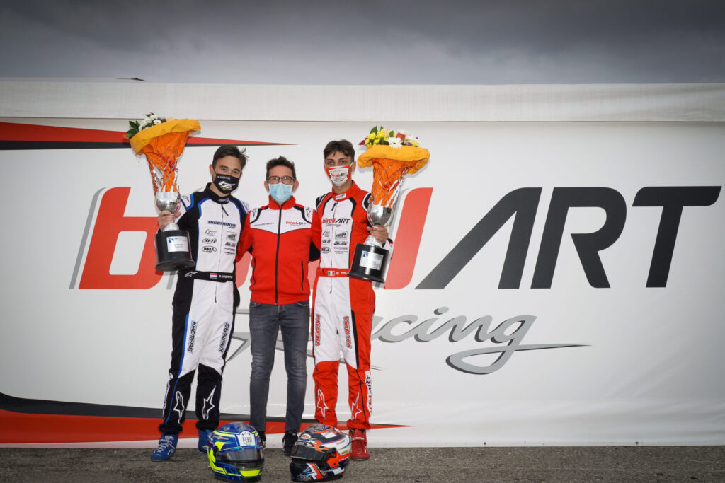Birel ART: A double and another podium at Lonato's World Championship