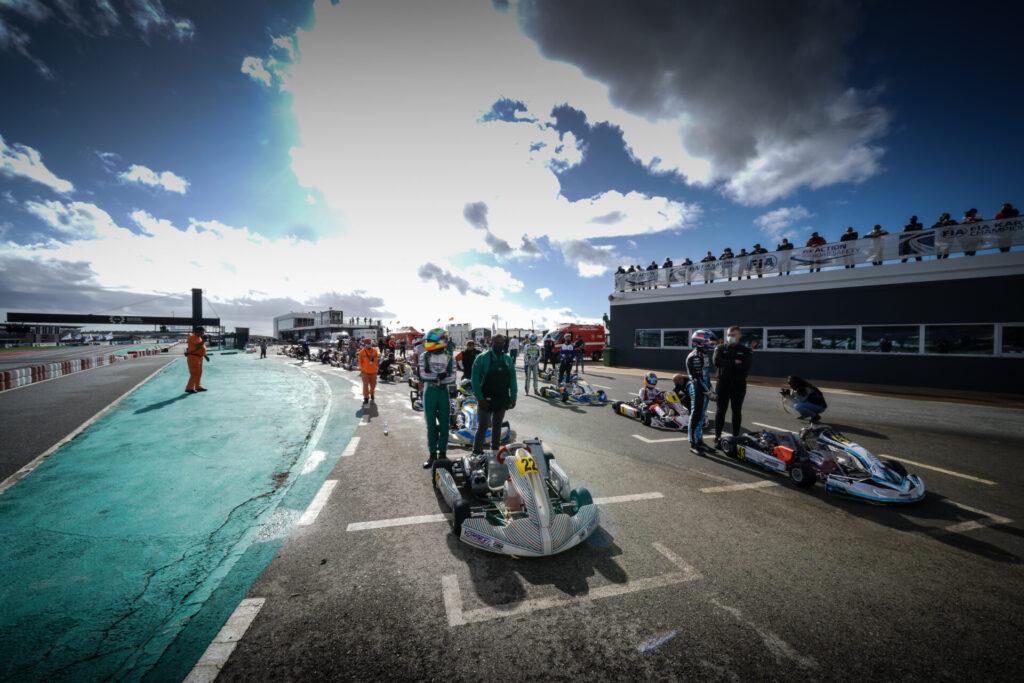 FIA Karting World Championship – OK/Junior: Fantastic battles in Portimão