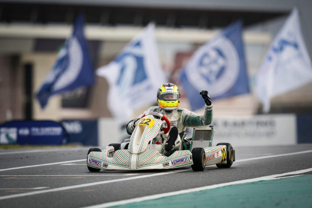 FIA Karting World Championship – OK: Bradshaw unstoppable, full podium for Tony Kart
