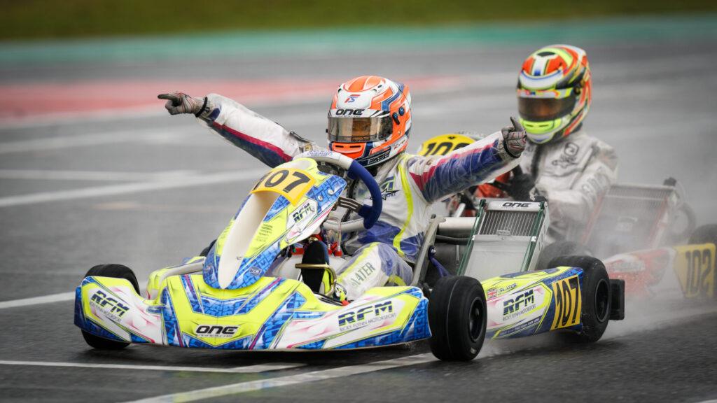 FIA Karting World Championship – Junior: Slater crowned on the edge!
