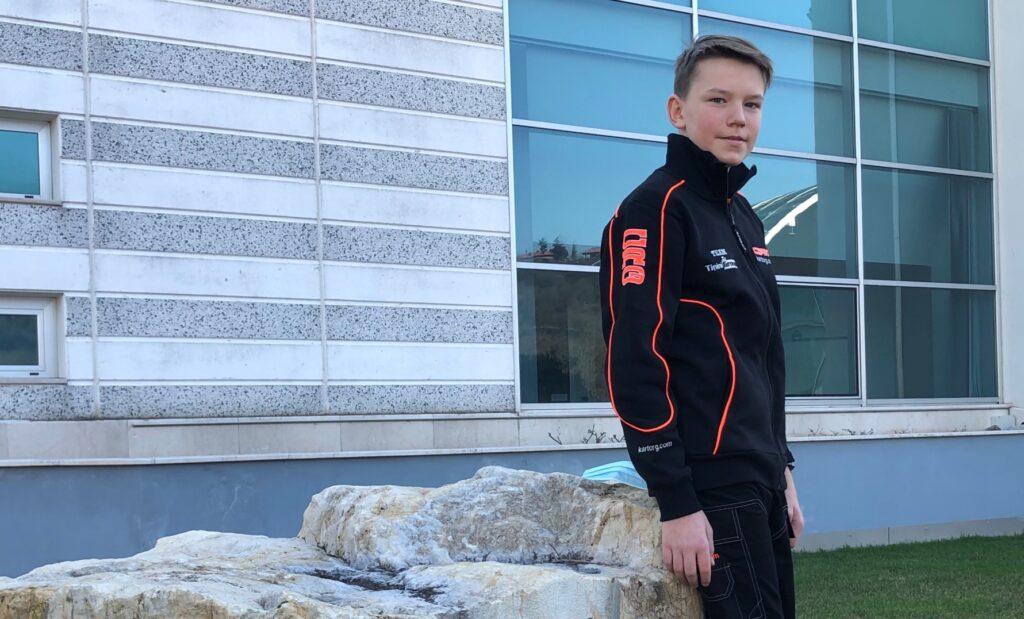 Maksymilian Obst joins CRG in OK-Junior
