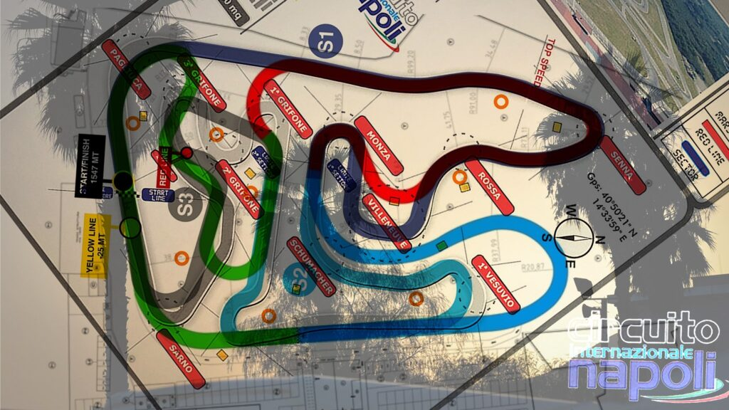 Sarno presents its new track layout for 2021