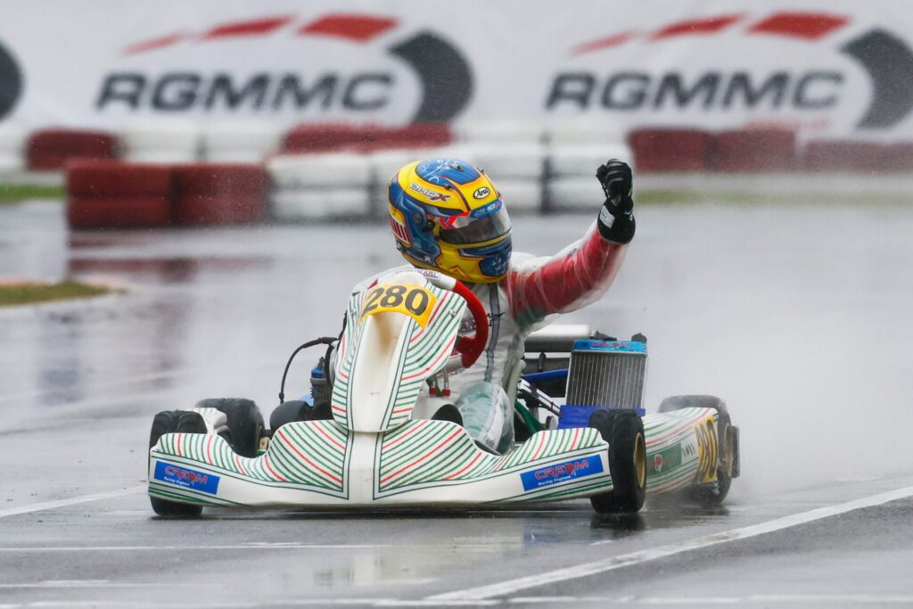 IAME Winter Cup: Kamyab, Harrison & Macdonald make the difference in the wet