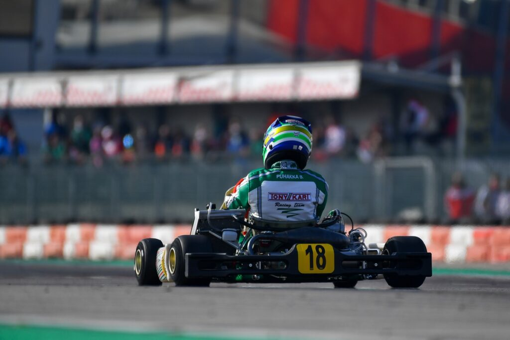 Tony Kart: Bad luck in the first round of the WSK Super Master Series