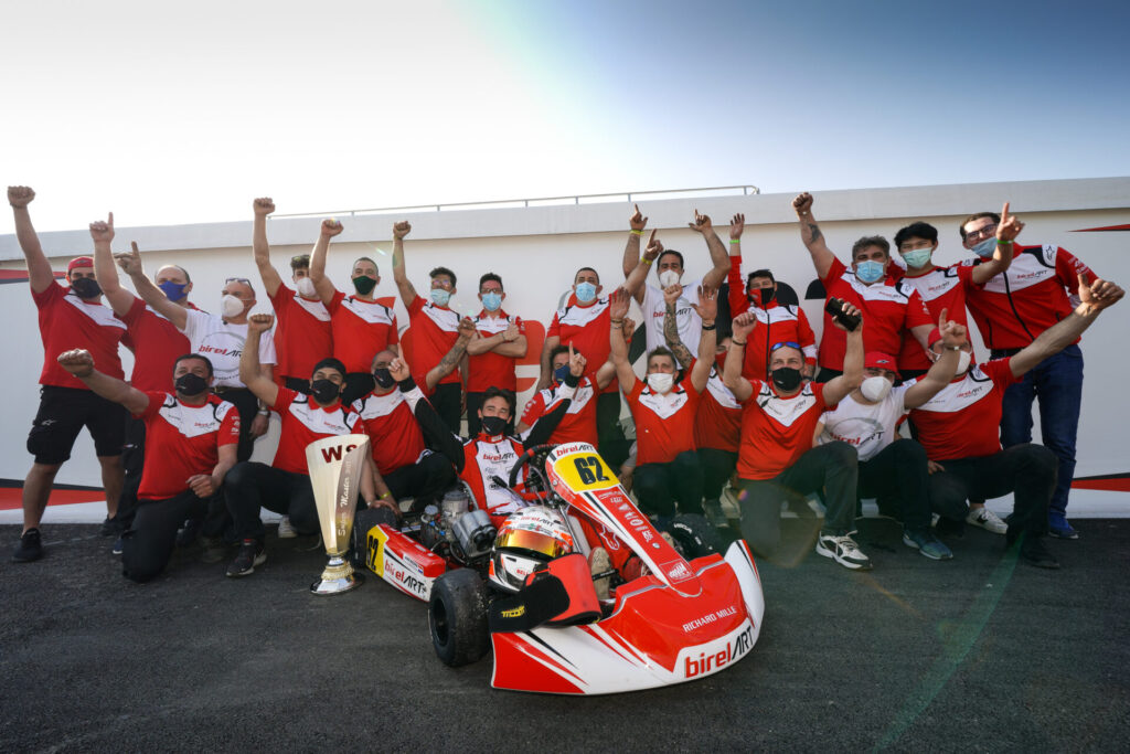 Birel ART: Superb victory for Kremers in Sarno!