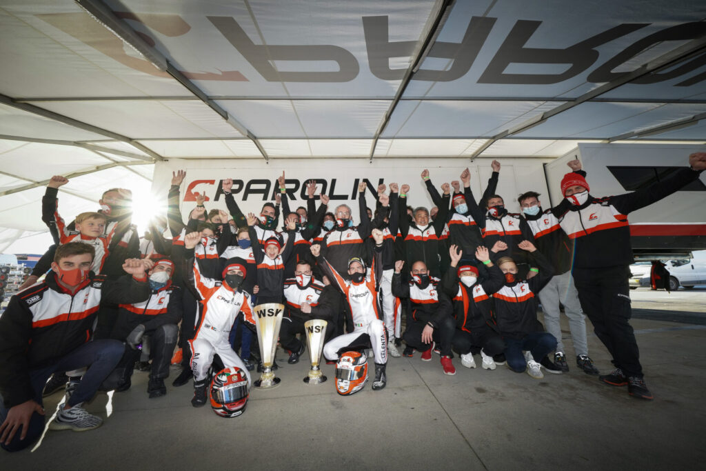 Parolin: Another victory & improved performance at WSK Super Master Series