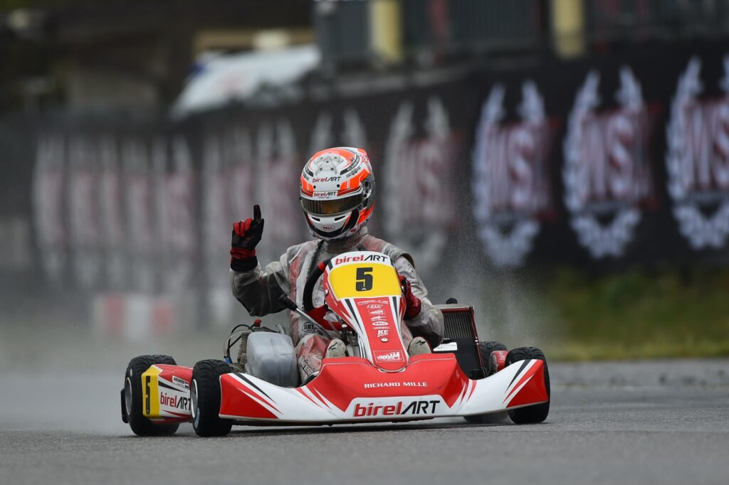 WSK Euro Series Round 1: Pesl, Al Dhaheri, Lindblad & Kremers winners of wet & hard-fought Finals at Lonato!