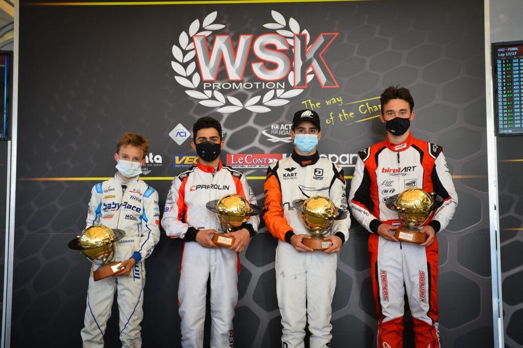 WSK Super Master Series Round 4: Denner, Lindblad, Al Daheri & Lammers for the last win
