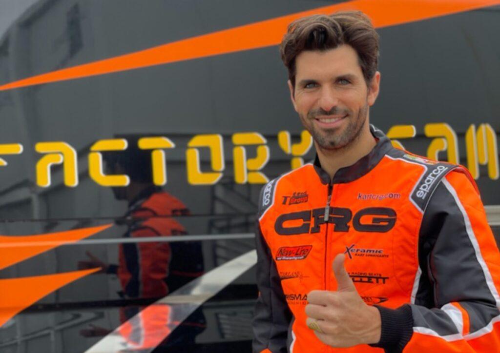 Ex-F1 driver Jaime Alguersuari is back in karting with CRG