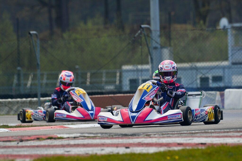 Kosmic Kart: Coluccio & Slater make the chassis shine at Genk