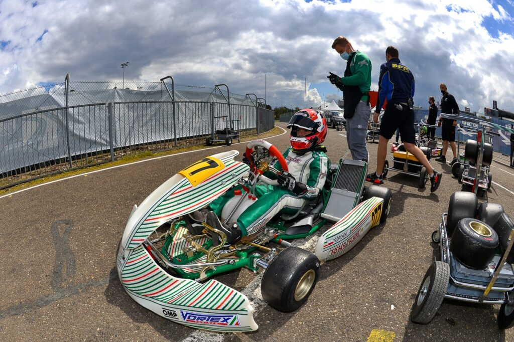 Tony Kart: Speed & show at the European Championship