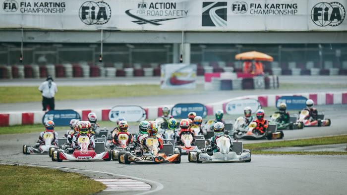 FIA Karting European Championship KZ/KZ2/Academy Round 1: The show intensifies in Germany!