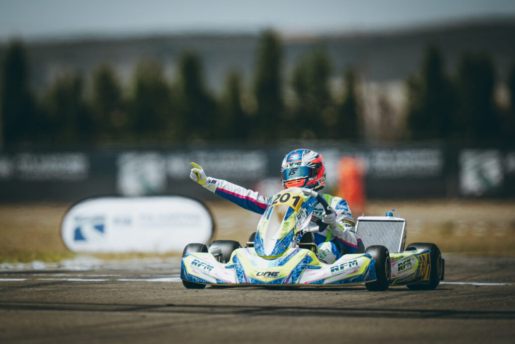 FIA Karting European Championship-OK/Junior Round 4: Antonelli & Slater crowned champions in style