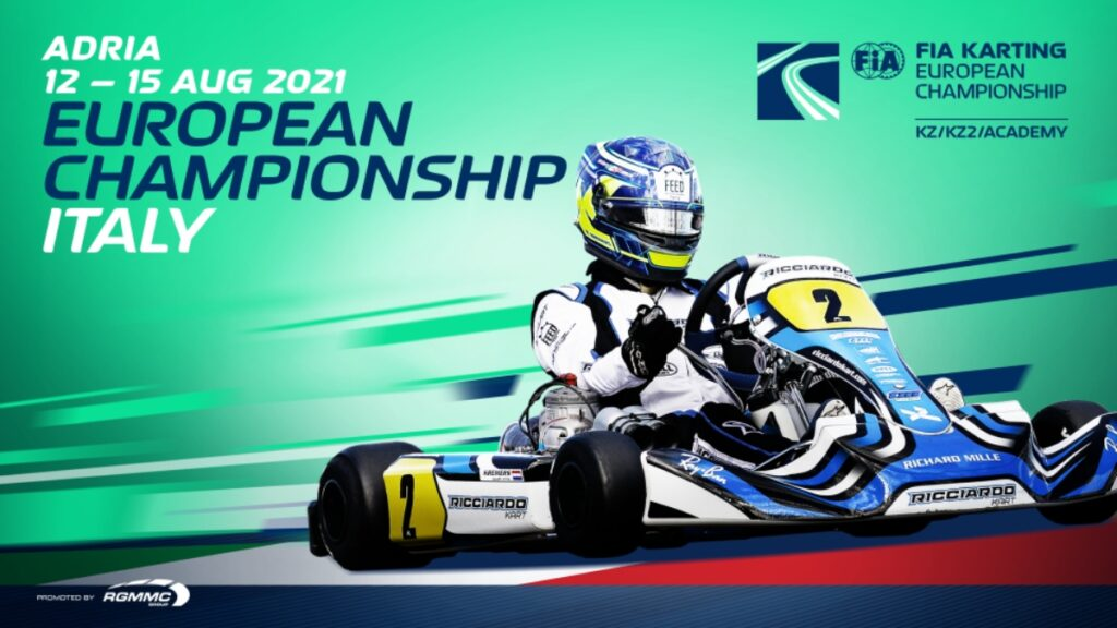 FIA Karting European Championship – KZ/KZ2/Academy Trophy: Expect an intense battle in Adria's heat